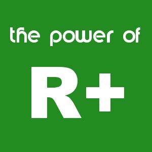 thepowerofR+